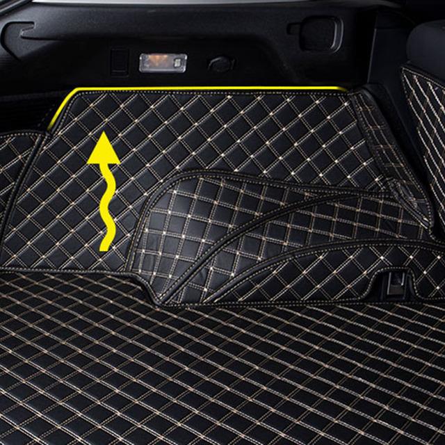 Alfombrilla para maletero de coche para lexus nx lx570 gx470 gx460 nx300h rx 350 es lx 570 rx nx 200 alfombra Interior con forro de carga is 250