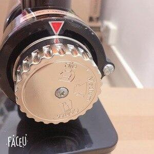 Image 3 - 110V ו 220V כדי 240V שחור צבע קפה מטחנת מכונת קפה מיל עם תקע מתאם