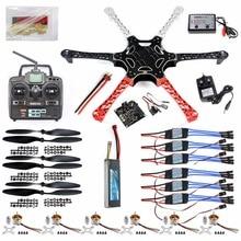JMT DIY Drone Kit Hex Rotor Hexa Copter RTF W/ F550 Flame Wheel Kit + KK 2.3 Controller + ESC Motor Weld&debug Battery TX RX Pro