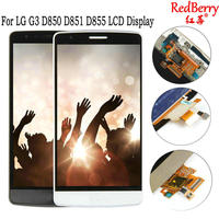 Redberry 5 5 For LG G3 LCD D850 D851 D855 LCD Display Panel Touch Screen Digitizer