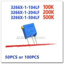 JASNPROSMA 3266X50 PCS 100 PCS 100 K 200 K 500 K 104 204 504 Präzision Einstellbar