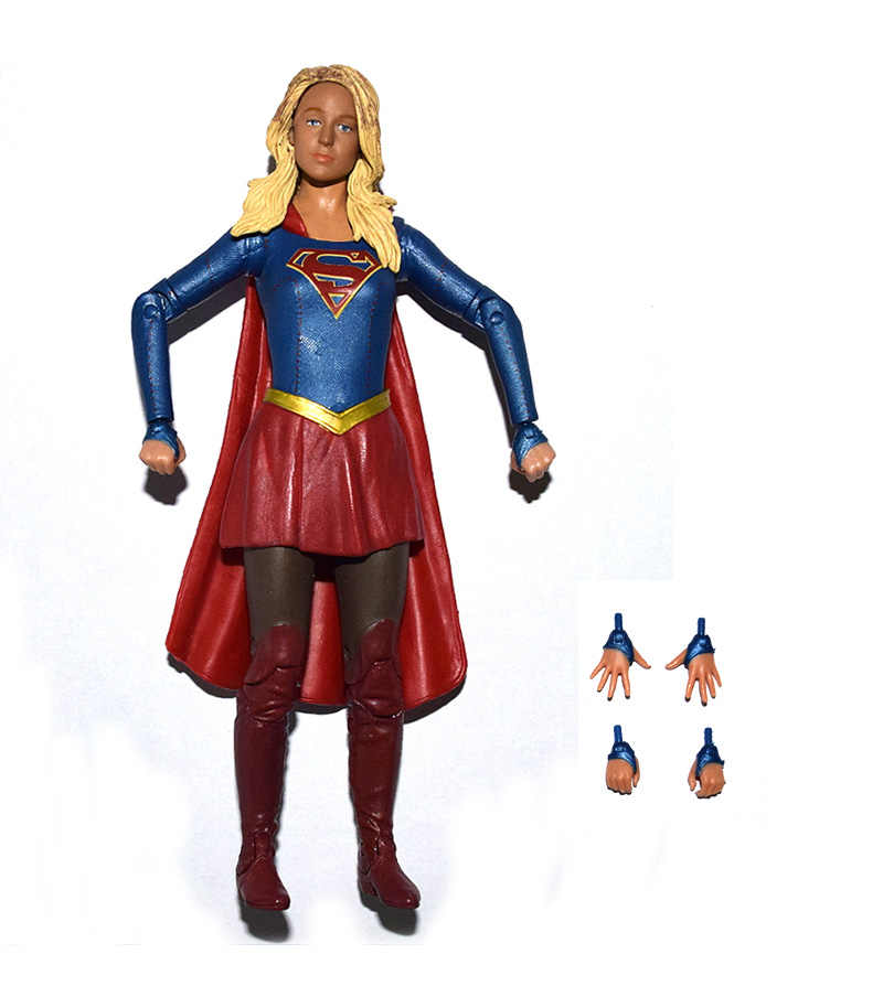 DC Collectibles DCC CW's TV Series Supergirl Losse Action Figure SPEELGOED XMAX GIFT GRATIS VERZENDING