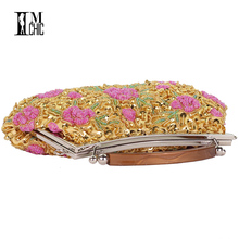 Embroidery Beaded Vintage Evening Bag