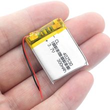 3.7V polymer lithium battery 042530 402530 300MAH Rechargeable Li-ion Cell Batteries For M