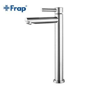 Image 5 - Frap robinet de lavabo de grande taille pour la salle de bains robinetterie mince pour leau chaude et froide du lavabo robinetterie simple pour la salle de bains Y10122/23