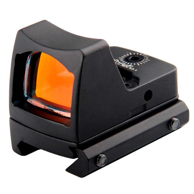 Tactische RMR Reflex Mini Red Dot Sight Scope zonder Aan/Uit Knop voor Jacht Airsoft Schieten HT5-0033