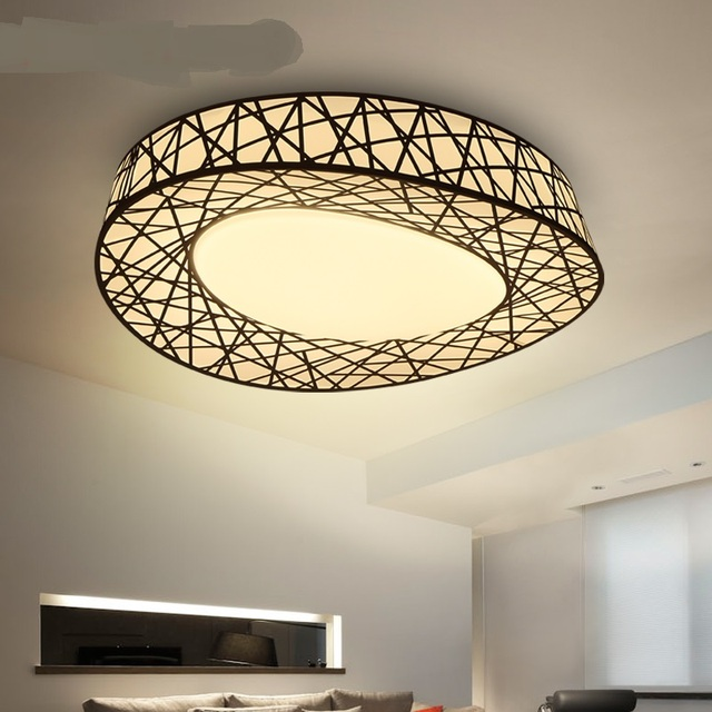 Lamps And Lanterns Living Room Ceiling Lights Master Bedroom Bird Nest Lamp  Simple Modern Light LU816333