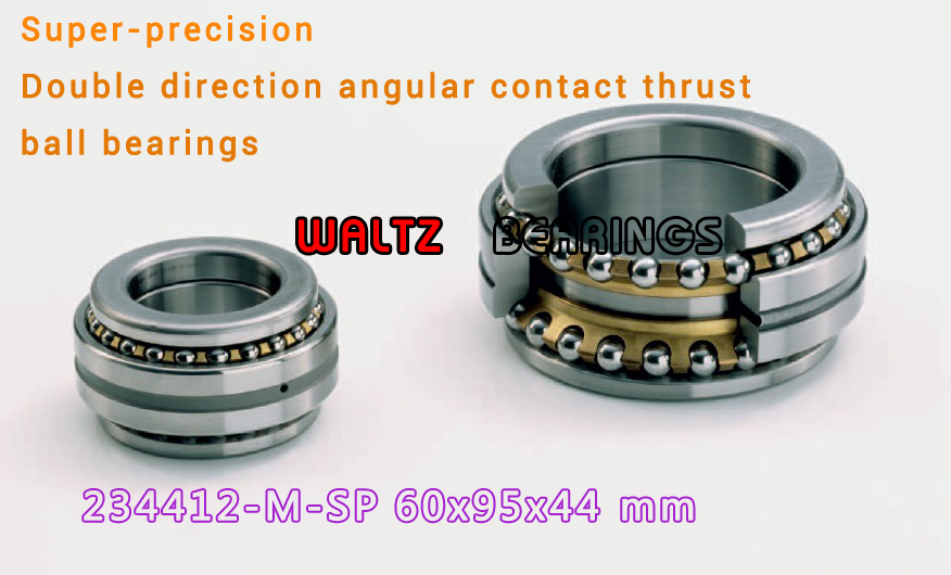 234412 M-SP BTW 60 CM/SP 562012 2268112 Double Direction Angular Contact Thrust Ball Bearings Super-precision ABEC 7 ABEC 9 1pcs 71901 71901cd p4 7901 12x24x6 mochu thin walled miniature angular contact bearings speed spindle bearings cnc abec 7