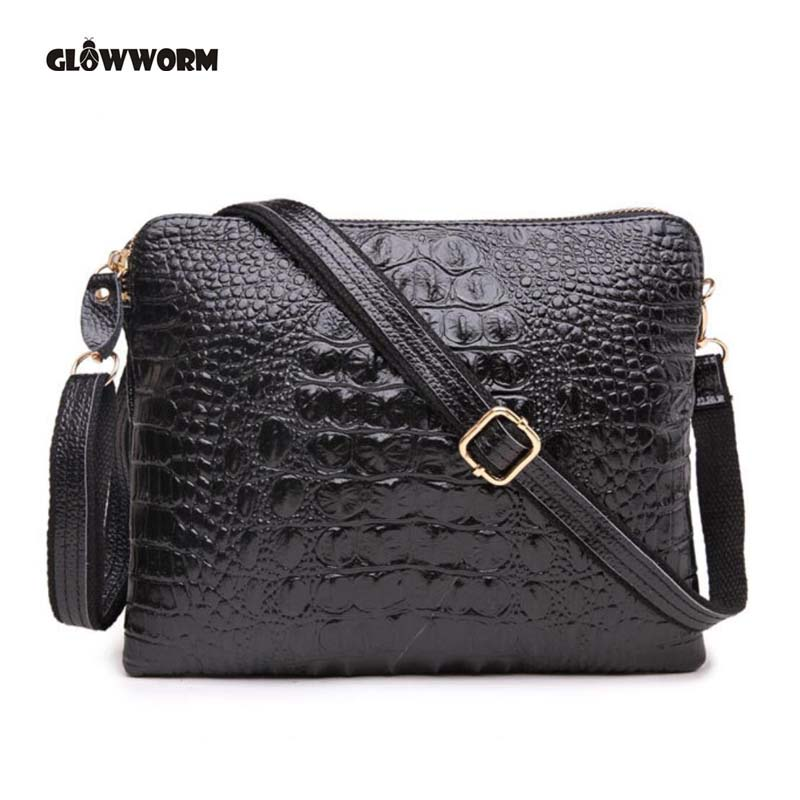 Designer Genuine Leather Small Shoulder Bags Casual Evening Party Clutch Women's Handbags Female Envelope Crossbody Women Bag