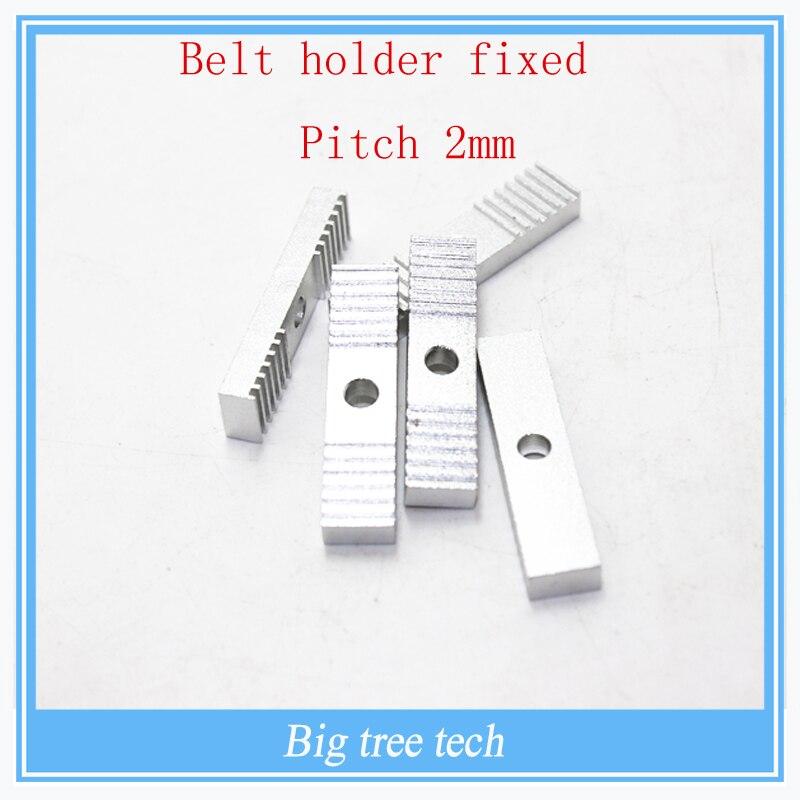 Reprap 3d impresora síncrono cinturón titular fijo pitch presión 2mm con platos