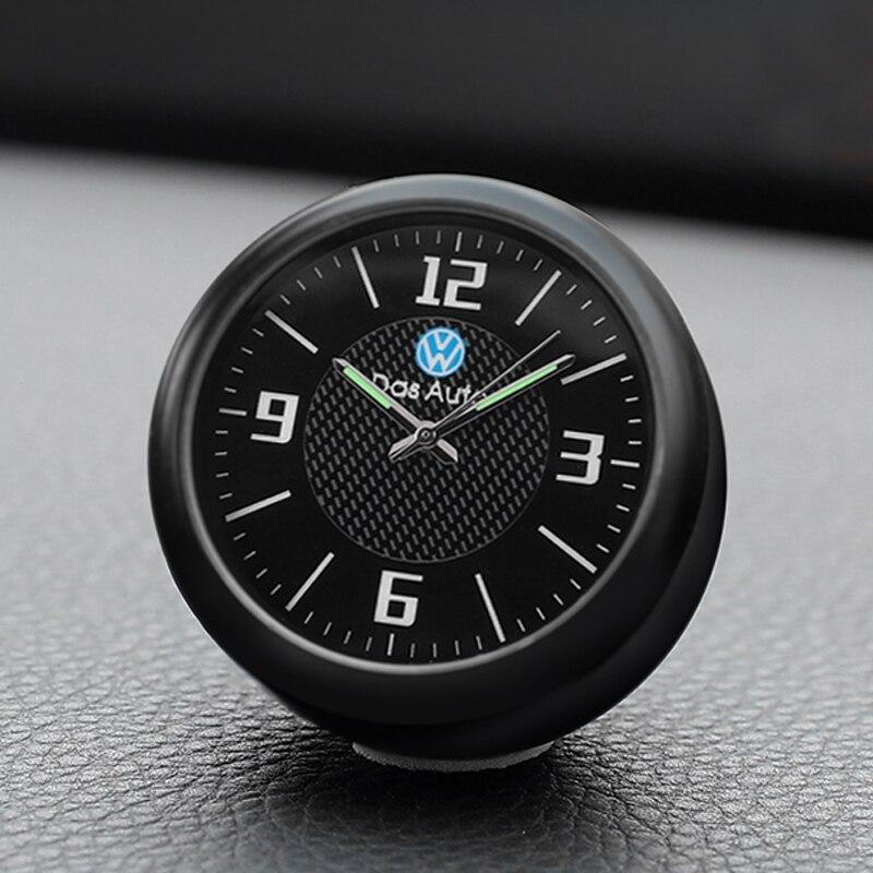 Car Quartz Clock Socket Clock Car Interior Fragrance Electronics For Volkswagen New Sateng Langyi Golf 7 Clock Accessories
