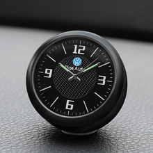 Car Quartz Clock Socket Clock Car Interior Fragrance Electronics For Volkswagen New Sateng Langyi Golf 7 Clock accessories