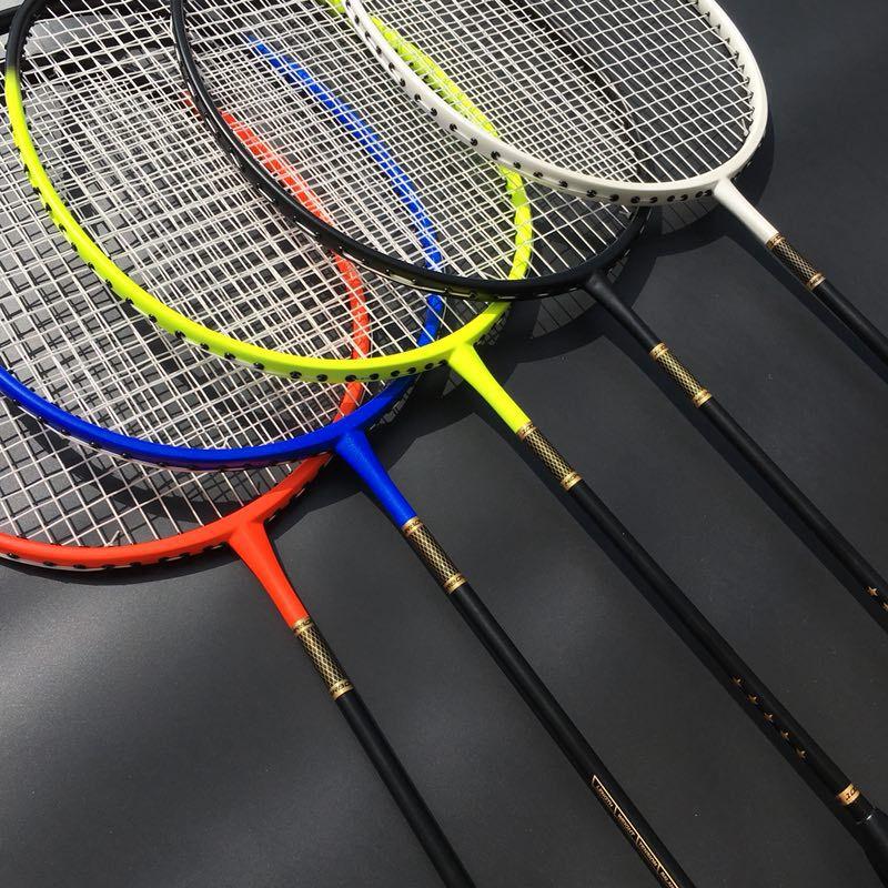 1 PC raquette de Badminton légère ZARSIA couleur bonbon raquette de Badminton qualité raquette en carbone 30LBS