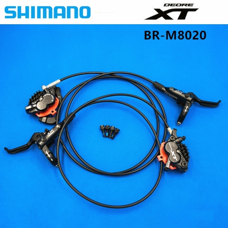 Shimano Deore XT BR M8020 MTB Mountain Disc Brakes Hydraulic Front & Rear Set  M8020 brake