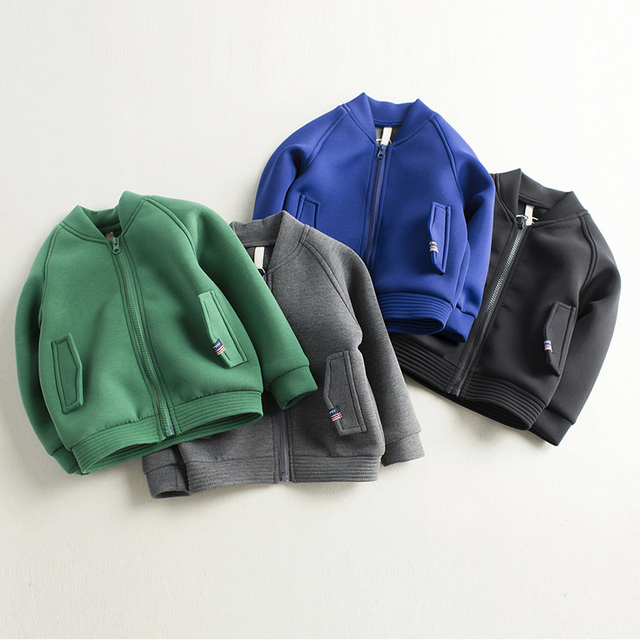 3268c683a Children Air Cotton Bomber Jackets for Kids Baby Boys Girls Jacket ...