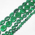 "Wholesale Man-Made Green Malachite Rondelle loose beads 15""/38cm, For DIY Jewelry Making ! can mixed wholesale !"