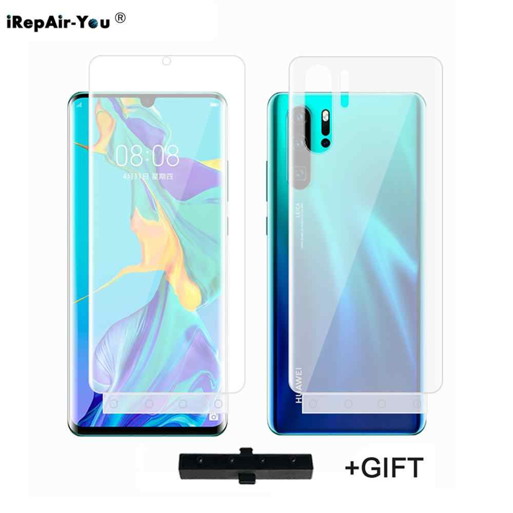 2pcs Front&Rear Soft TPU Hydrogel Film For Huawei P30 20 Pro Lite Mate 20 10 Pro Mate 20 X 5G Nova 3 Full Cover protector Film
