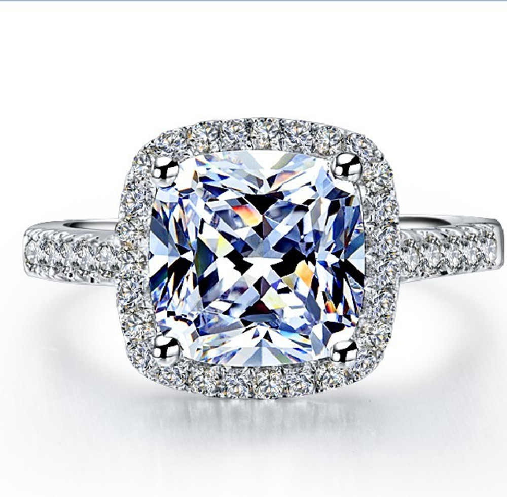pin pave platinum cut in studio ring rings crown style blue diamond engagement french petite pav cushion nile