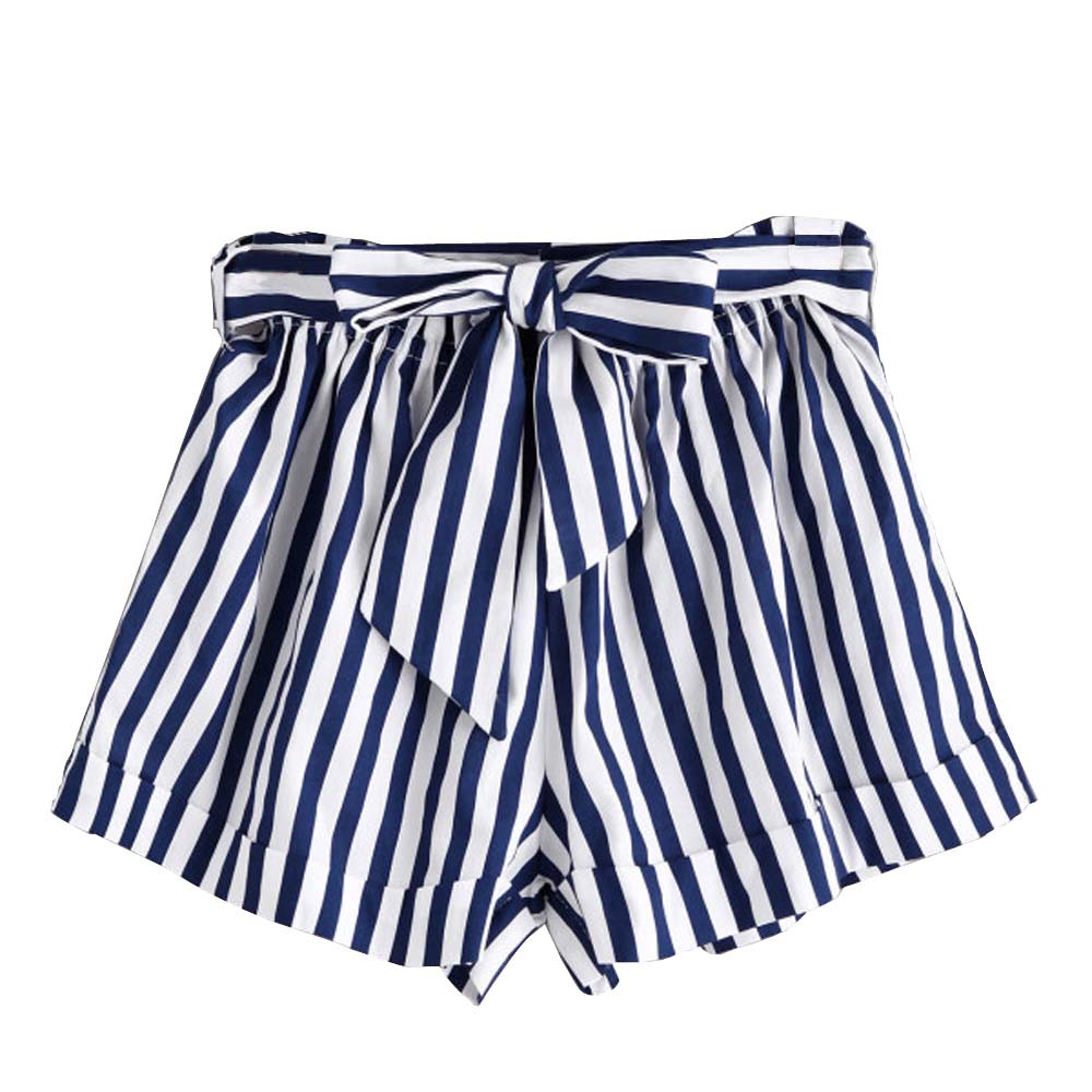 Gepäck & Taschen Süß GehäRtet Feitong Frauen Shorts Sommer Streifen Lose Heiße Dame Sommer Strand Hosen Kurze Femme Ete 2018 # A3 Elegant Und Anmutig
