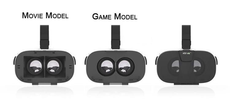 FIIT VR 3D Virtual Reality Video Helmet Cardboard 2.0 VR Glasses Box for 4.0-6.5 inch Smartphone Lightweight Ergonomic Design (6)