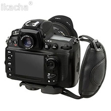 Универсальная ручка с кожаным ремешком для камеры DSLR для Canon 5D Mark II 650D 550D 70D для NIKON D7000 D5200 D5100 бренд высокого качества