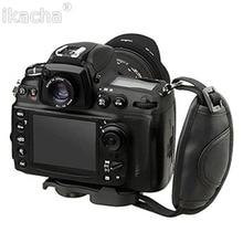 цена на Universal DSLR Camera Leather Hand Strap Grip for Canon 5D Mark II 650D 550D 70D For NIKON D7000 D5200 D5100 Brand High Quality