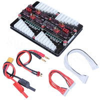 4in1 T Plug Deans Lipo Battery Charger 2 8S Parallel Balanced Charging Board Plate RC Hobby Tools