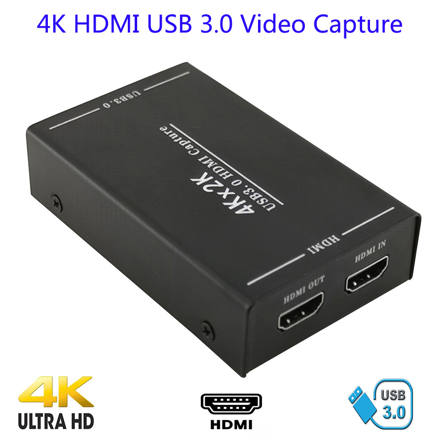 4K HDMI USB 3 0 Video Capture Card HDMI HD Game Record Capture Support 4K 2016P