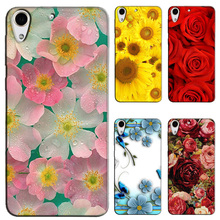 Cartoon Animal Flower Fruit Phone Case for HTC Desire 728 728G Dual Sim D728T D728W Best Quality Hard PC Back Cover Fundas