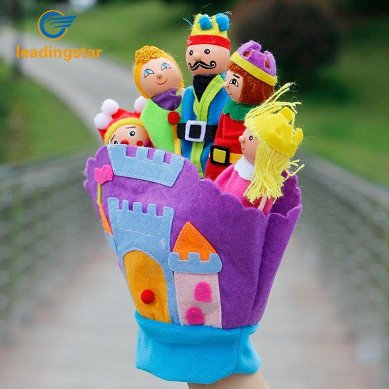 LeadingStar Hand Glove Baby Plush Toys Fairy Kingdom Educational Puppets Finger Puppet Kids Learning Education Toys For Children