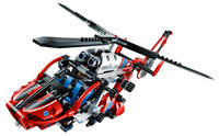 DECOOL Technic City Series Rescue Helicopter Building Blocks Bricks Model Kids Toys Marvel Compatible Legoings