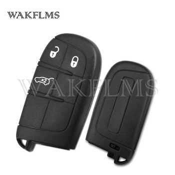 Newest OEM 3 Buttons Smart Car Key Fob For Fiat 500X 4A Chip 433MHz M3N40821302 For Jeep Genuine Version With Emergency Key