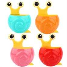Creative Snail Shape Toothbrush Toothpaste Holder Bathroom Wall Hanging Strong Suction Storage Rack Organizer floating shelf