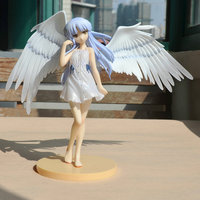22 Cm Height Polyresin Angel Beats Angel Made China Play Anime Hand Do Die Figure Gifts
