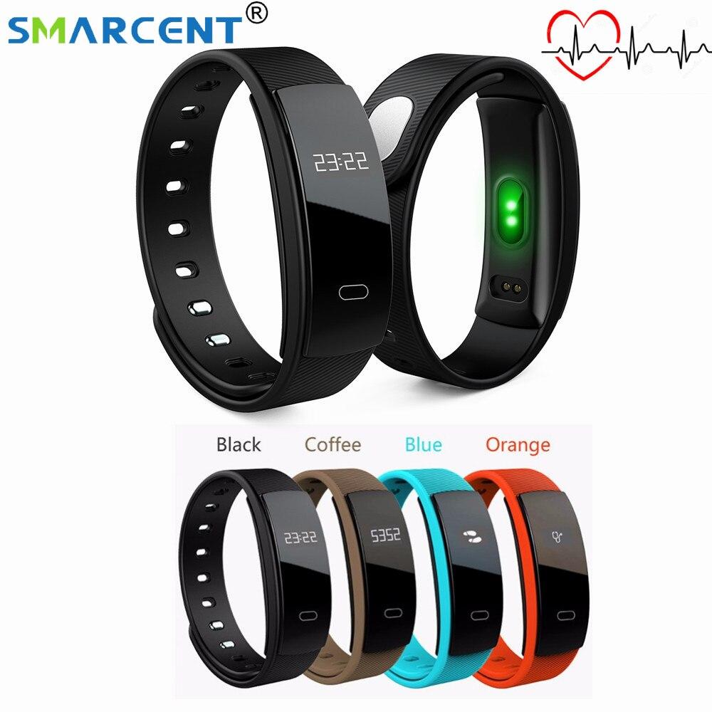 QS80 Heart Rate Monitor Smart Wristband Call Reminder Blood Pressure Measure Pedometer Smart Bracelet Fitness Tracker Smart Band