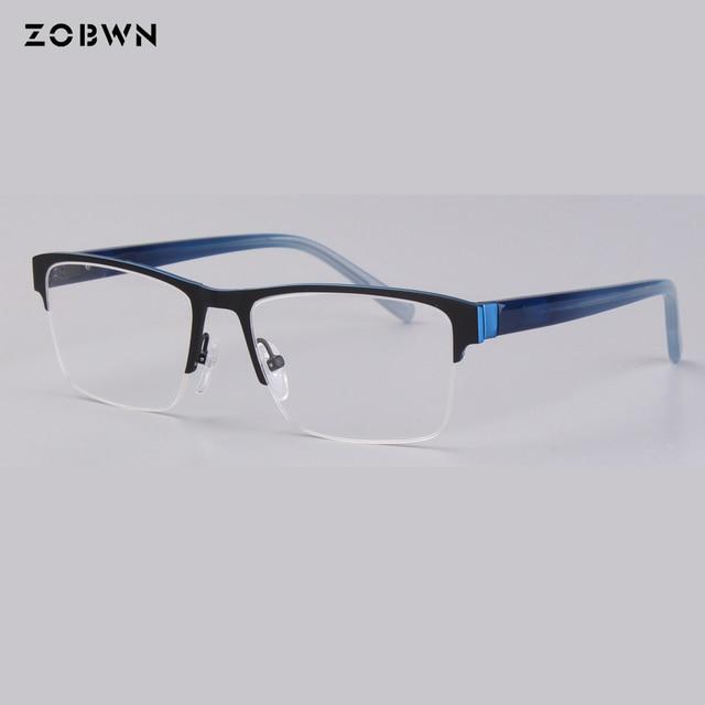 b3ffd659b7f ZOBWN eyeglasses frame men glasses oculos masculino vintage optical frame  prescription elegant eyewear big square glasses