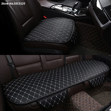 Car Seat Cushion Protector Pad Front Rear Fit for Most Cars Four Seasons Protect Mat For SEAT LEON ARONA ATECA IBIZA