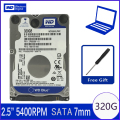 WD Blue 320Gb 2,5