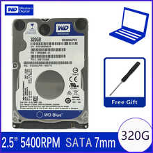 """WD Blue 320Gb 2.5\"""" SATA II Internal Hard Disk Drive 320G HDD HD Harddisk 3Gb/s 8M 7mm 5400 RPM WD3200LPVX for Notebook Laptop - DISCOUNT ITEM  37% OFF Computer & Office"""