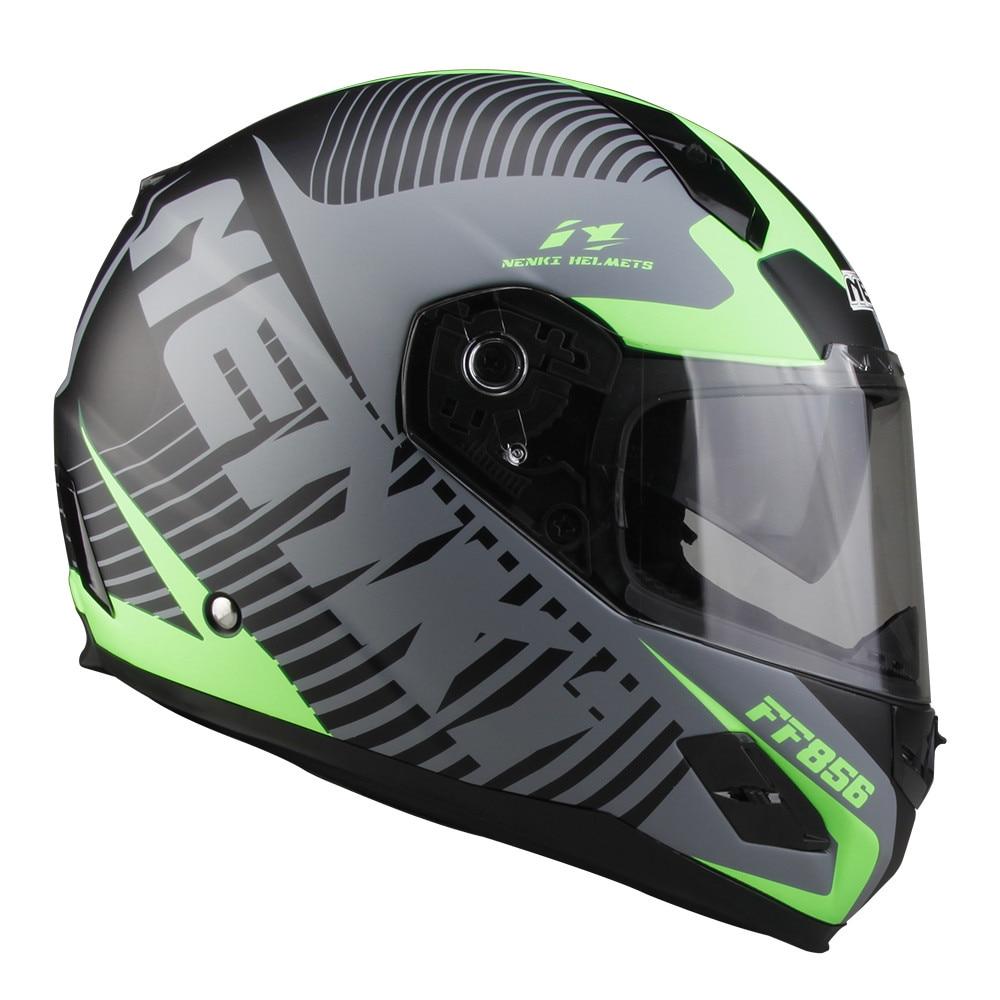 2017 НЭНЬКИ стеклоткани мотоцикла полное лицо шлем capacete Cascos пункт Мото шлем Каск 863-3 да мотоциклиста шлем гонки шлемы