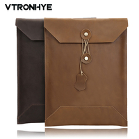 13 15 Inch Genuine Leather Laptop Case For Macbook Pro 13 2016 Touch Bar New Fashion