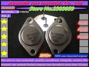 Image 1 - Aoweziic 2018 + 100% nowe importowane oryginalne MJ15024G MJ15025G MJ15024 MJ15025 do 3 złota zamknięte moc dźwięku wzmacniacz (1 zestawów)