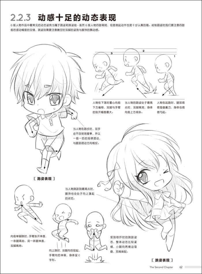 Karakter Kartun Lucu Gambar Gambar Pesan Cina Masuk Buku Komik untuk Pemula