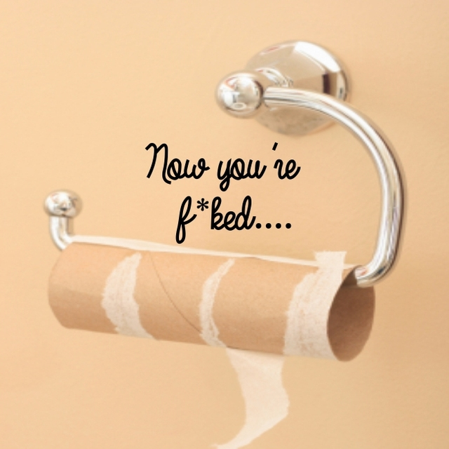 FUNNY BATHROOM wall stickers toilet quote seat decal art vinyl ...