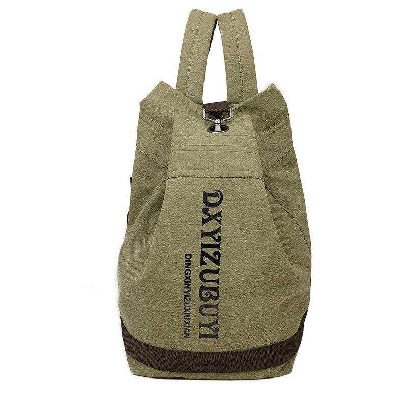 8334bb8590bf US $22.14 11% OFF|retro men's black canvas Backpack shoulder bag Unisex  designer mens beach bags large capacity travelling back bag men bookbag-in  ...
