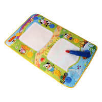 Electric Music Water Canvas Coloriage Enfant Magic Water Painting Blanket Graffiti Writing Children Painting Toys with Water Pen