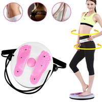Sports Rope Twist Board Twister Plate Fitness Sports Equipment Home Rotation Massage For twist exerciser Load bearing 85kg
