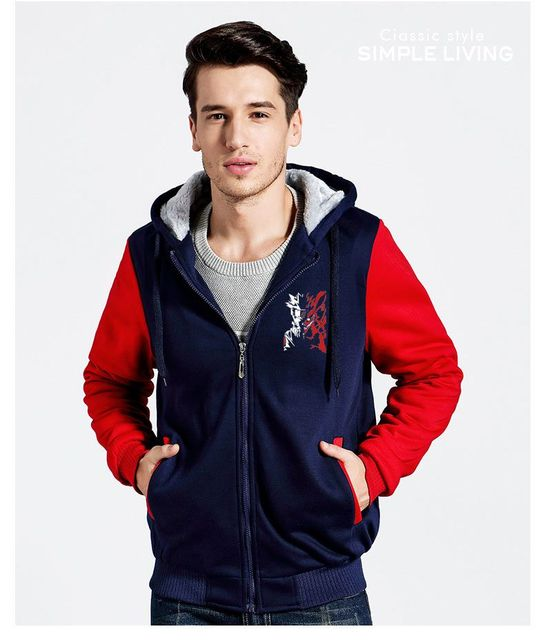 Minato Jacket Thicken Hooded Sweatshirts