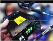 AC 110 В 220 В цифровая Паяльная Станция Утюг Регулятор Температуры + T12 Ручка диапазон настройки Температуры, 180-435 градусов.