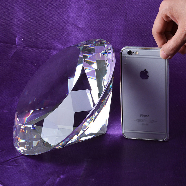 Aliexpress buy stock in usa warehouse clear large crystal stock in usa warehouse clear large crystal diamond 200mm wedding decoration centerpieces unique gifts junglespirit Choice Image